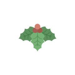 Mistletoe color icon. Elements of winter wonderland multi colored icons. Premium quality graphic design icon