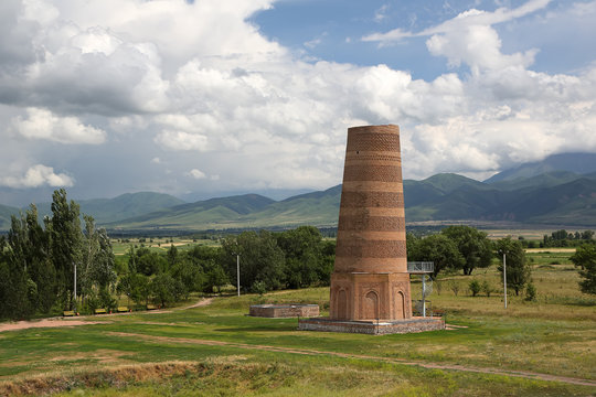 Burana tower.
