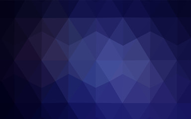 Light Pink, Blue vector gradient triangles template.