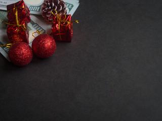 Christmas spending concept