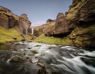 Kvernufoss Waterfall, Iceland