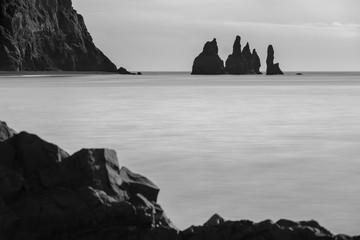 Reynisdrangar, Sea stacks, vik, iceland