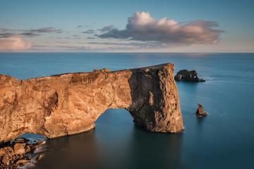 Dyrhólaey Arch, vik, iceland