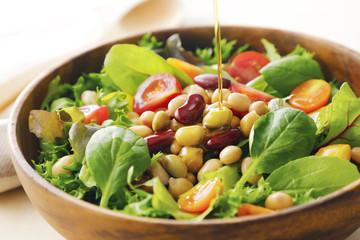 豆のサラダ Beans salad