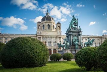 Maria Theresia Monument, in Vienna, Austria.