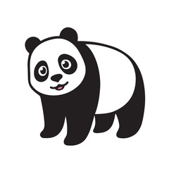Cartoon Giant panda