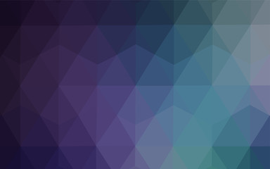 Dark Pink, Blue vector low poly layout.