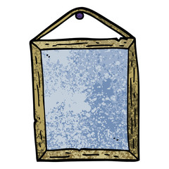 grunge textured illustration cartoon picture frame