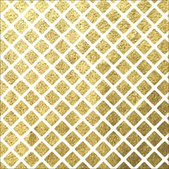 Vector golden Christmas pattern