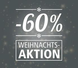 60% Weihnachtsaktion Reduziert