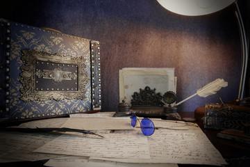 Steampunk lettere di un viaggiatore