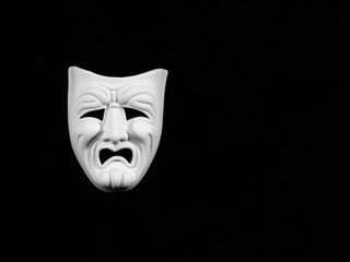 theatre tragedy mask