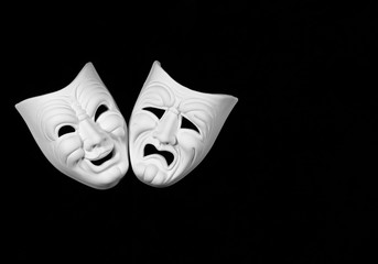 comedy and tragedy theatre mask