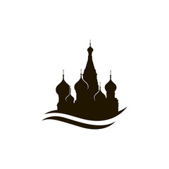 illustration of Moscow Saint Basil Cathedral in Red square