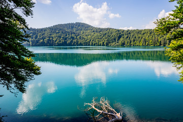 Le Lac Pavin en Auvergne