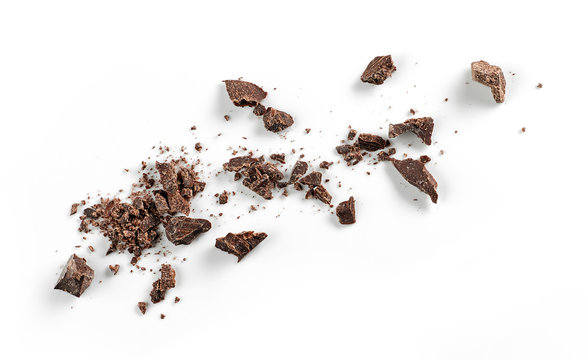 small chocolate crumbs