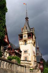 Peles Castle in Sinaia, Prahova County,Romania