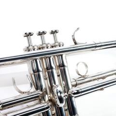 Keuken foto achterwand Muziek Trumpet music brass instrument
