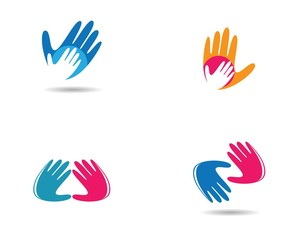 Hand symbol illustration
