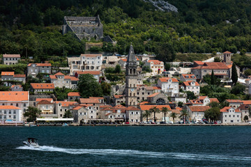 Perast is an old town on the Bay of Kotor in Montenegro. It has been part of the Republic of Montenegro since 2006.