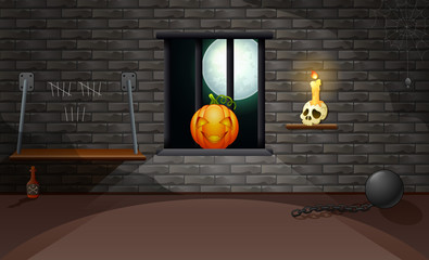 Decoration house of halloween