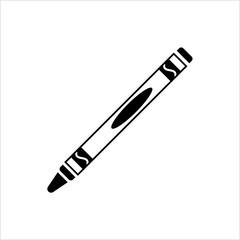 Crayon Icon, Drawing Crayon
