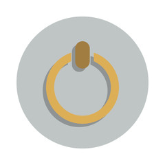 inclusion mark icon in badge style. One of web collection icon can be used for UI, UX