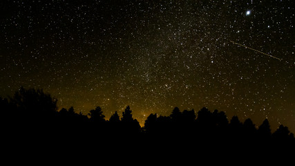 night sky in Grand Canyon National Park