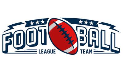 Modern logo concept for american football  team