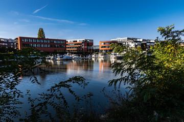 Yachthafen Hannover am Mittellandkanal