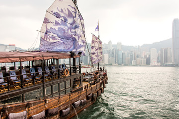 Foto op Aluminium Hong-Kong Hong Kong, a general view of the island