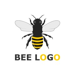 The Bee logo for bee or honey business