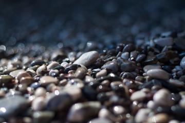 Photo sur Plexiglas Zen pierres a sable colorful stones on the beach