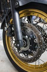 Beautiful  Motorcycle detail Soft-focus image