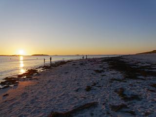 Sunset on Plage Sainte-Marguerite