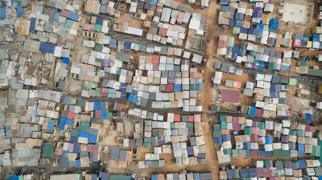 Agbogbloshie Slum in Ghana