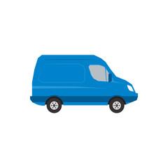 Vector illustration of minibus