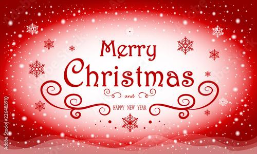 Christmas Invitation Card Christmas Background With Text Christmas