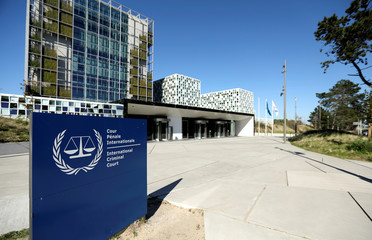 International Criminal Court is seen in The Hague