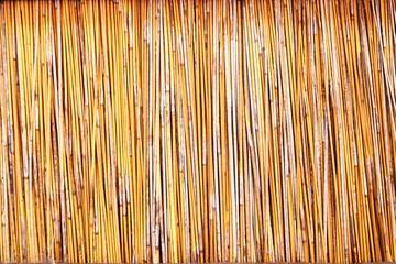 Bamboo sticks panel