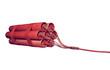Rote Dynamitstangen