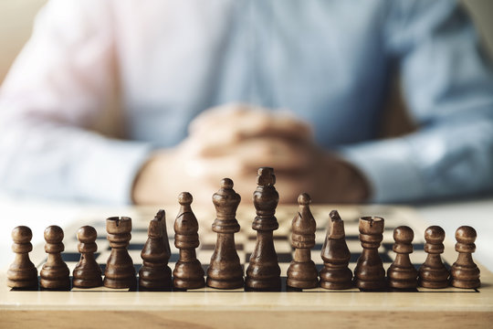 business strategy and challenge concept