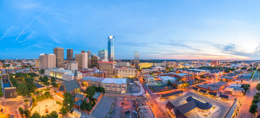 Wall Mural - Oklahoma City, Oklahoma, USA Skyline
