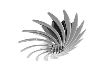 Metallischer Bohrkopf