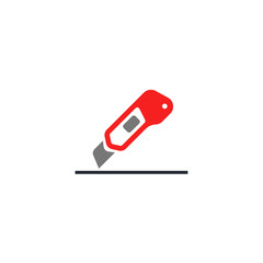 Cutter icon. Cutter symbol for your design, logo, UI. Vector illustration.