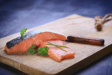tranche de saumon