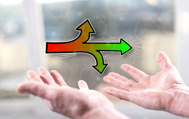 Concept of right direction