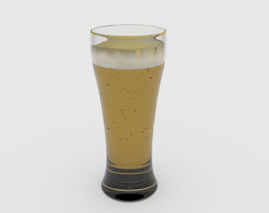 Weißbier im Glas