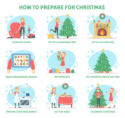 How to prepare home for christmas party