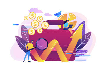 Investment concept vector illustration.
